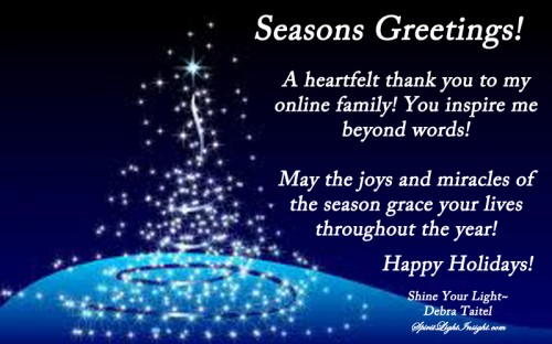 Seasons Greetings from Daily Muse