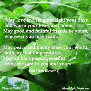 Happy St. Patrick's Day! May you be blessed!