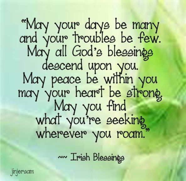 Happy St. Patrick's Day from SpiritLightInsight!