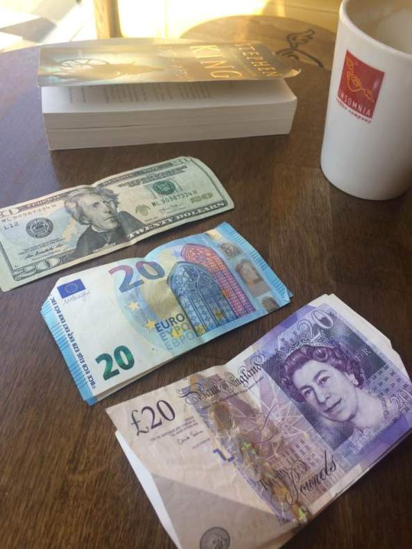 Money. It's just paper...